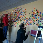 1000 Cranes for Alex Teves